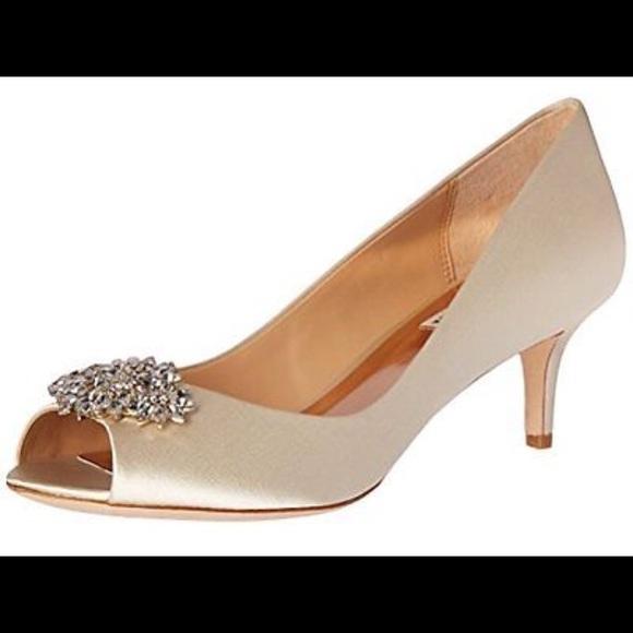 dd27c08e0c Badgley Mischka Shoes | Nakita Kitten Heel | Poshmark